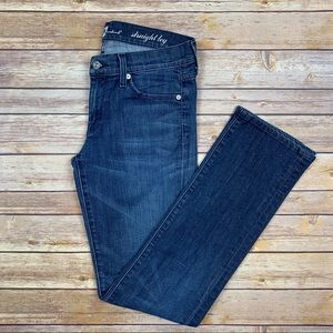 7 FOR ALL MANKIND || Straight Leg Jeans